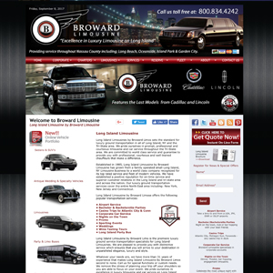 Long Island Limo Website